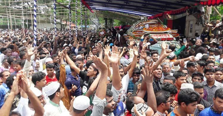 রংপুরবাসীর ভালোবাসায় পল্লী নিবাসে চিরশায়িত এরশাদ