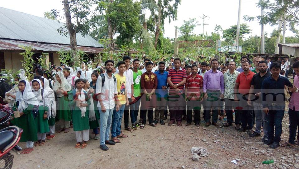 কুলাউড়ায় ৫শতাধিক শিক্ষার্থীদের মাঝে গাছের চারা বিতরণ করল আশার আলো সামাজিক সংস্থা