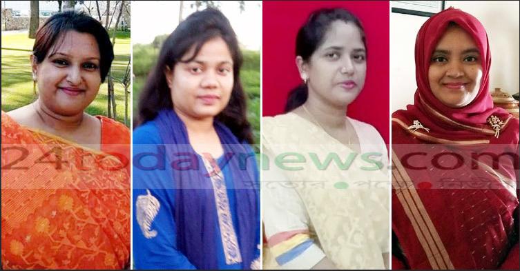 সুনামগঞ্জে মানুষের কল্যাণে কাজ করছেন ৪ নারী ইউএনও
