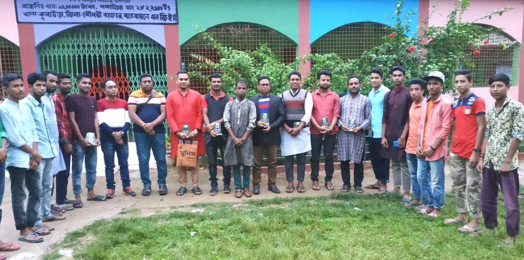 কৌলা ক্রিকেট ক্লাবের উপদেষ্টাদের সংবর্ধনা অনুষ্ঠিত