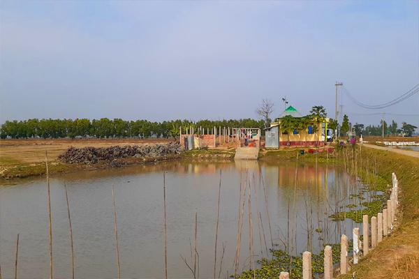 বানিয়াচংয়ে কৃষকলীগ নেতার দখলে থাকা ১৪ একর ভূমি উদ্ধার