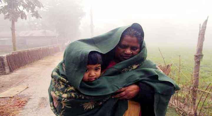 মৌলভীবাজার ৭ উপজেলায় তীব্র শীতে বিপর্যস্ত জনজীবন
