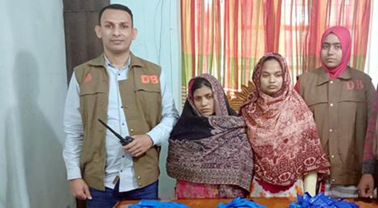 হবিগঞ্জে ৬১ হাজার পিস ইয়াবাসহ ২ নারী আটক