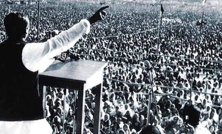 বাঙালী জাতির সর্বশ্রেষ্ঠ কাব্য হলো ৭ই মার্চের ভাষণ