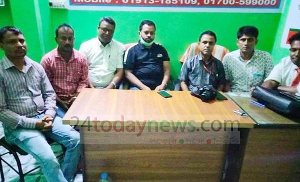 শ্রীপুর উপজেলা সাংবাদিক নির্যাতন প্রতিরোধের আহবায়ক কমিটি ঘোষণা